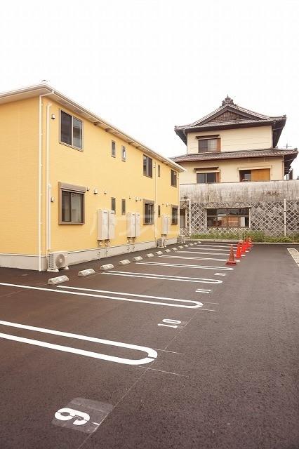 ルーベル太田B 02030号室の駐車場