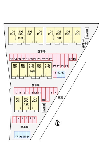 ルーベル太田B 02030号室のその他