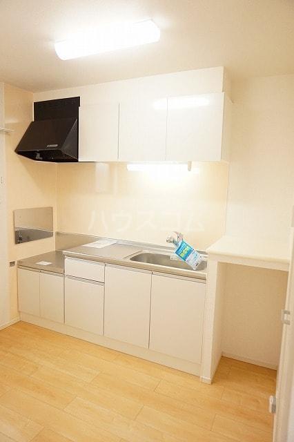 ルーベル太田B 02030号室のキッチン