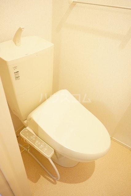 ルーベル太田B 02030号室のトイレ