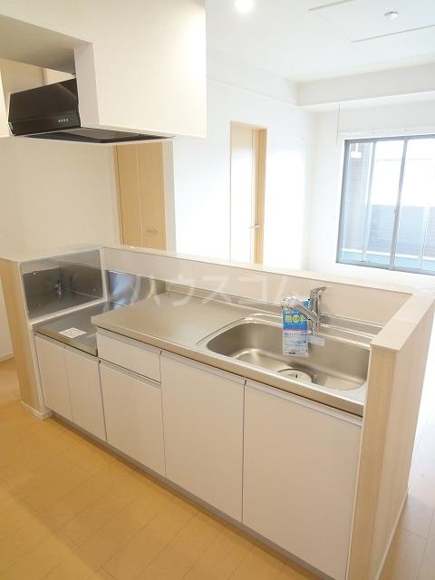ソレイユ 02020号室のキッチン