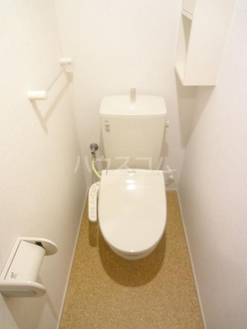ソレイユ 02020号室のトイレ