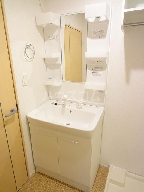 ソレイユ 02020号室の洗面所