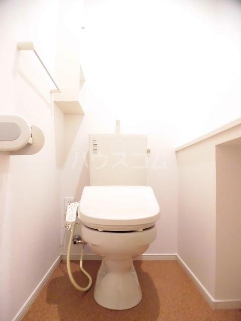 ジュネス御茶園 02020号室のトイレ