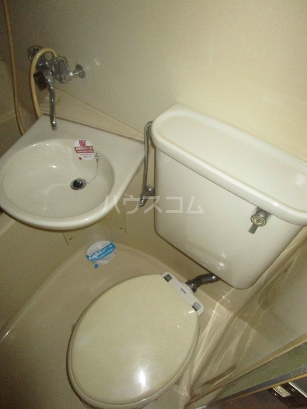 野沢マンション 202号室のトイレ