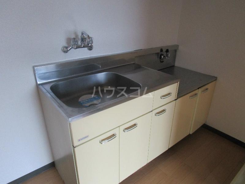 野沢マンション 202号室のキッチン