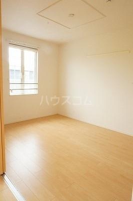 グローレC 02030号室のベッドルーム