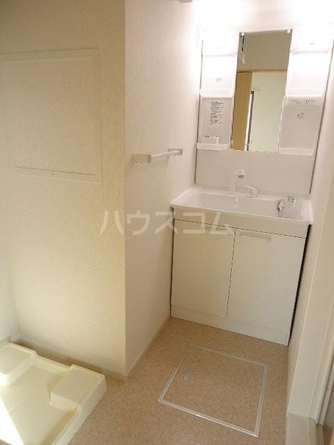 ブラウベルク浦里 03030号室の洗面所