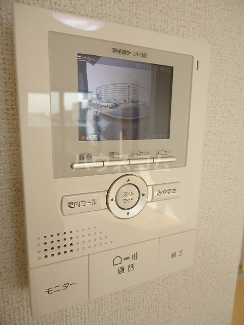 ブラウベルク浦里 03030号室のセキュリティ