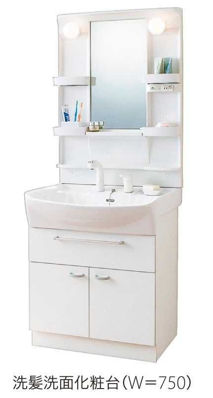 ヴァルミー 02010号室の洗面所