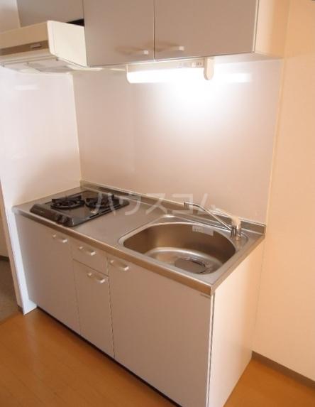 クレール 204号室のキッチン