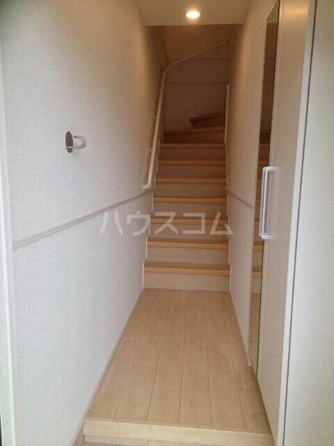 メゾンド・RIN 02030号室の玄関