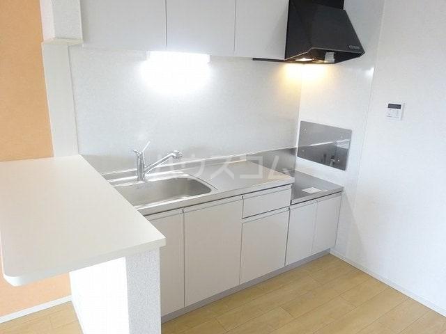 ベルベル Ⅰ 02010号室のキッチン