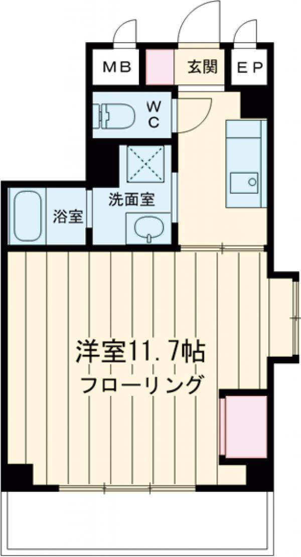 新幸倉ビルⅡ・101号室の間取り