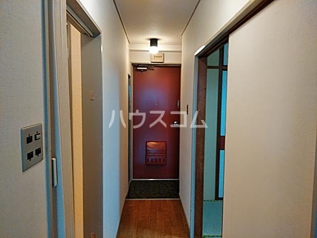 六角シティハイツ 203号室の玄関