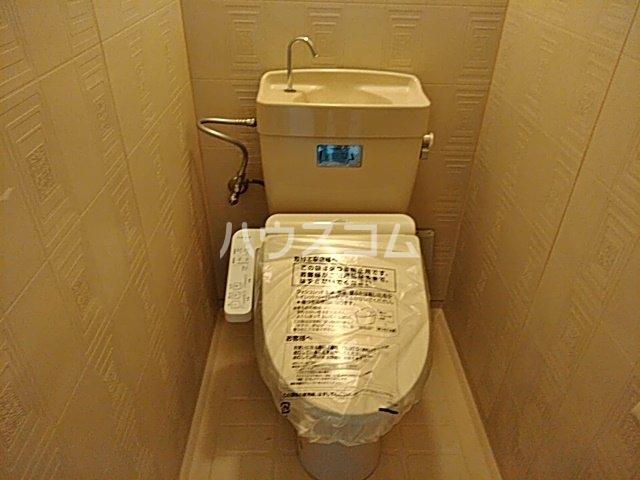 六角シティハイツ 203号室のトイレ