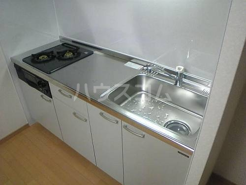 アンプルールフェールルミエール富木 102号室のキッチン