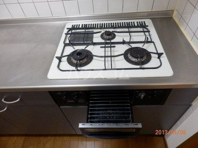 ヤマキチ館 420号室のキッチン