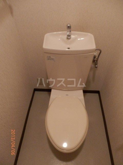 ヤマキチ館 420号室のトイレ