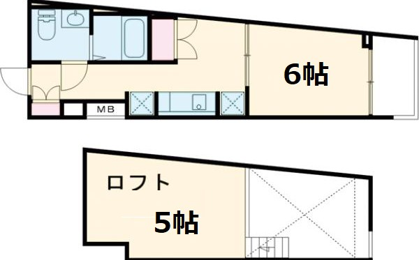 NEI IKEBUKURO・406号室の間取り