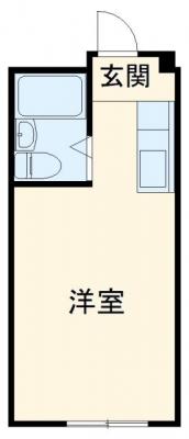 UL YAIZU Ⅰ・4D号室の間取り