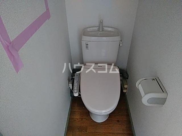 ベルコートⅥ 307号室のトイレ