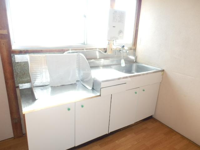 ヒオギハイム 205号室のキッチン