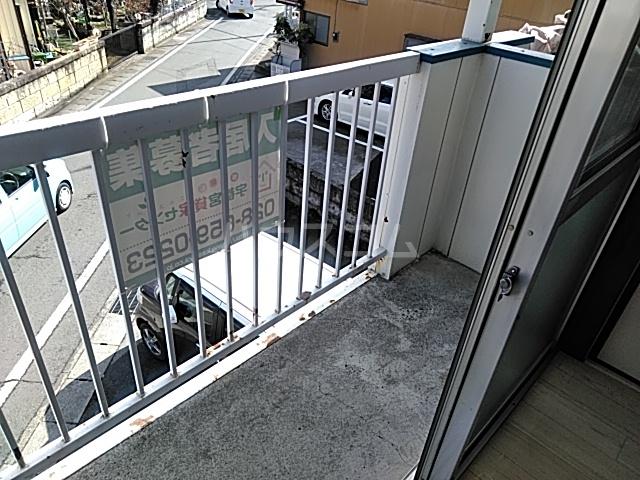 ラ・ヴィータ・フェリーチェ宇都宮 202号室のバルコニー