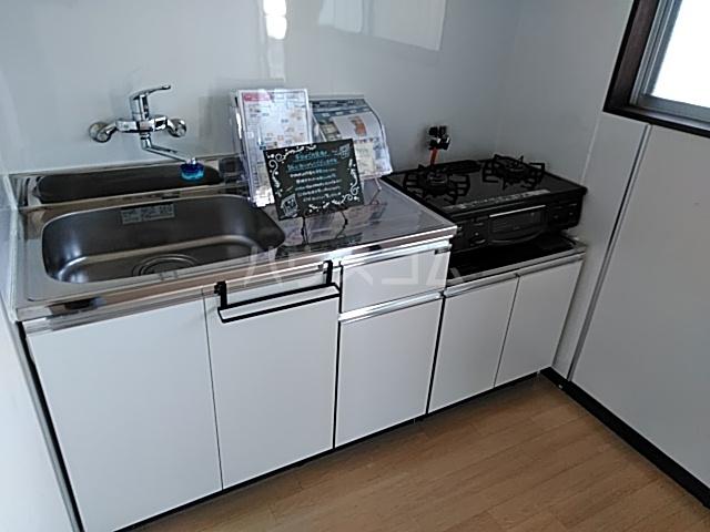 ラ・ヴィータ・フェリーチェ宇都宮 202号室のキッチン
