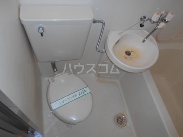 シルビア21 303号室のトイレ