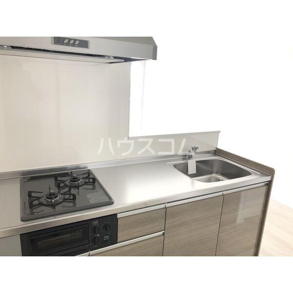 サンパレス植田 405号室のキッチン