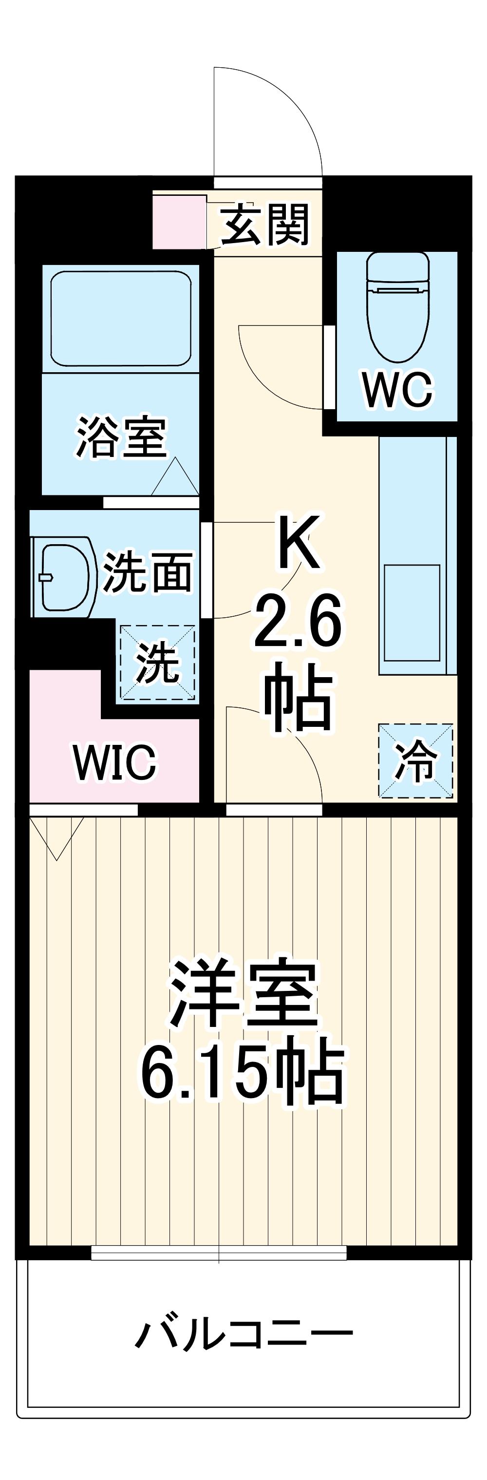 リコルテ sanburaitonesu 302号室の間取り