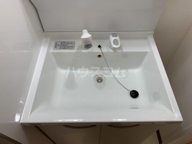 リコルテ sanburaitonesu 302号室の洗面所