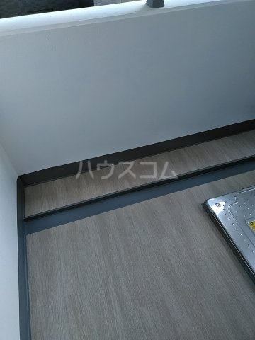グランジット目黒不動前 203号室のバルコニー