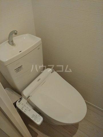 グランジット目黒不動前 203号室のトイレ