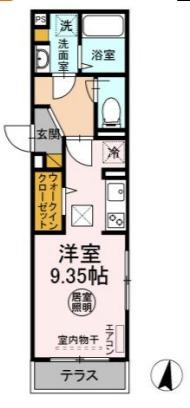 仮称)D-room太田S・101号室の間取り