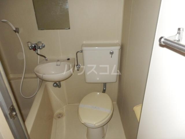 井上ハイツ 203号室のトイレ