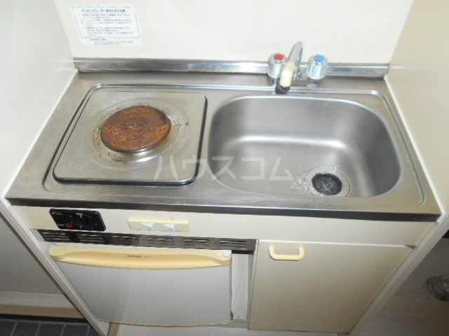 池田ハイツA 101号室のキッチン