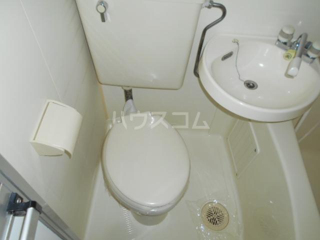 池田ハイツA 101号室のトイレ