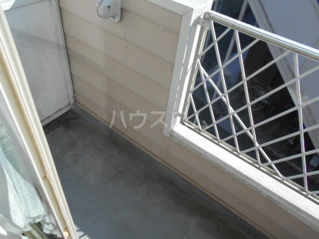 池田ハイツB 112号室のバルコニー