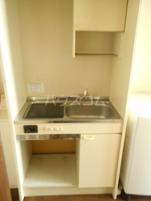 池田ハイツB 112号室のキッチン