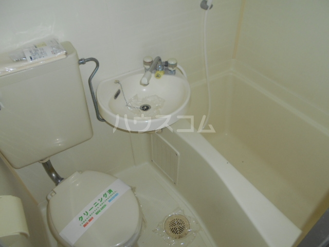 池田ハイツB 112号室の風呂