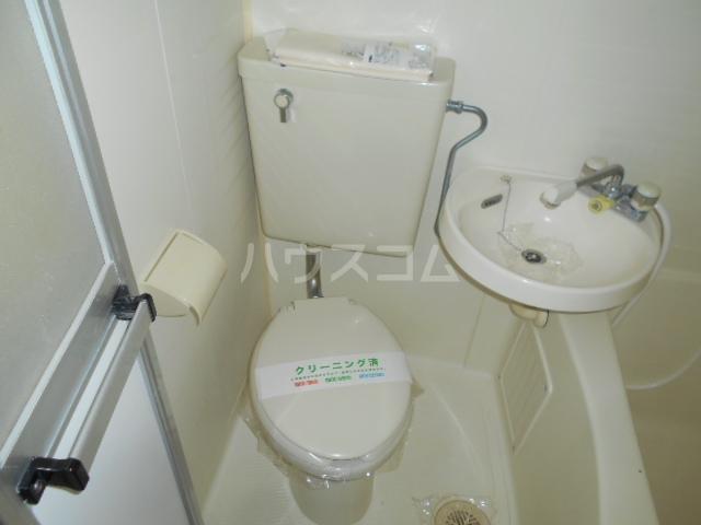 池田ハイツB 112号室のトイレ