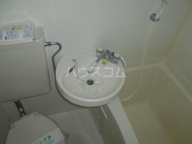 池田ハイツB 112号室の洗面所