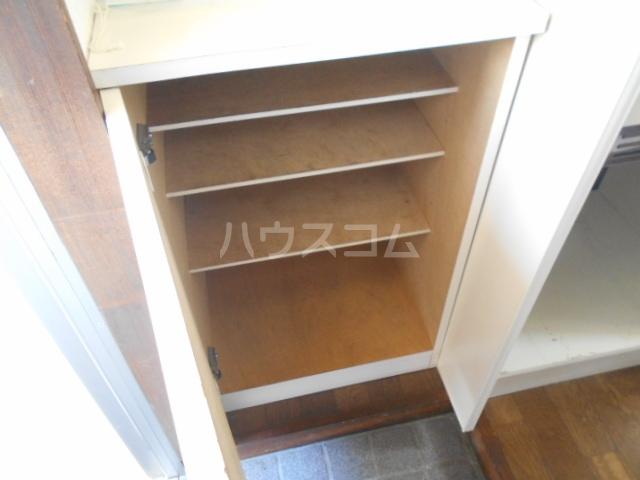 池田ハイツB 112号室の収納