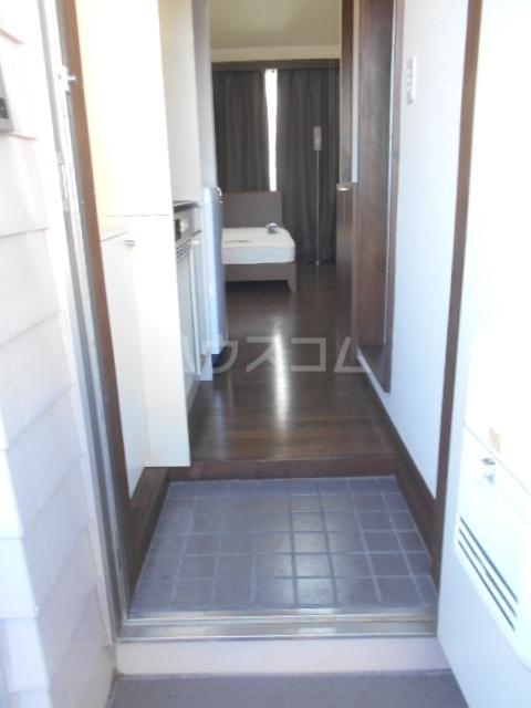 池田ハイツB 112号室の玄関