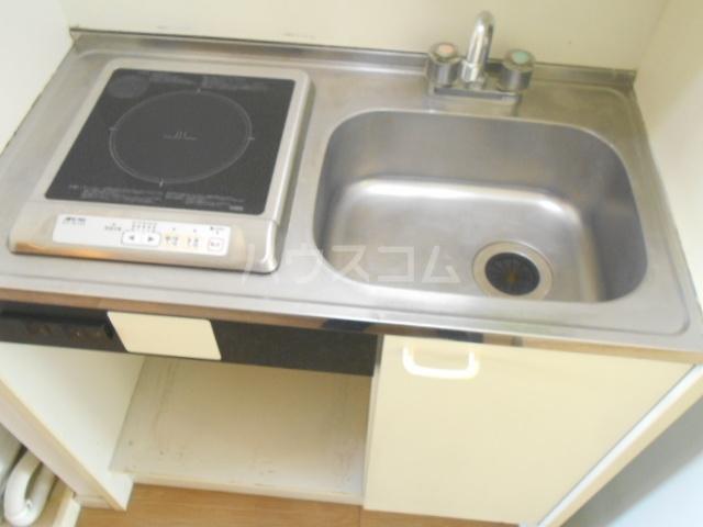 レジデンス扇 1050号室のキッチン