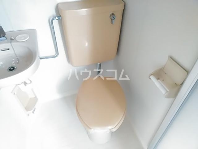 アイシック高崎 201号室のトイレ
