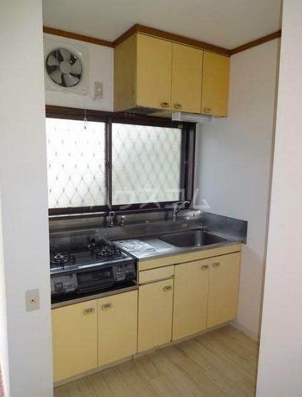 シティハイムグリーンヒルA 103号室のキッチン