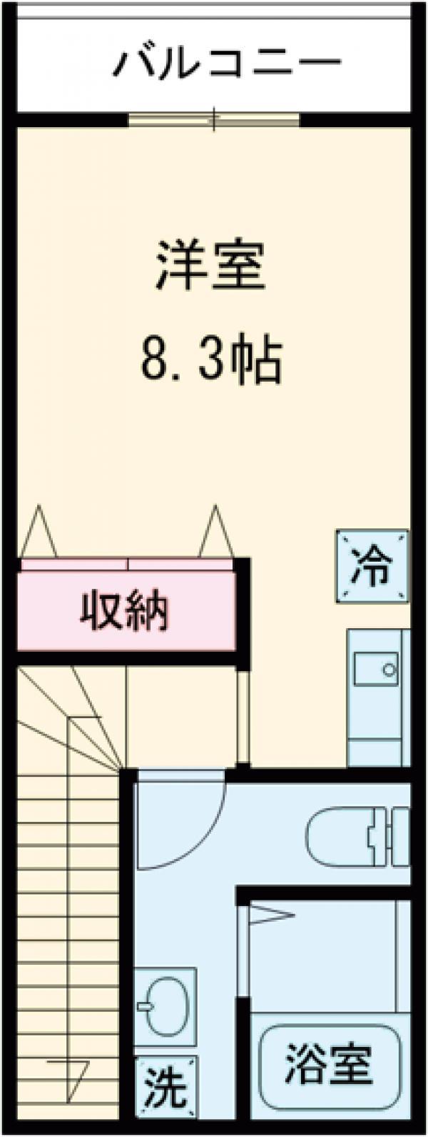 桜テラスKOMAE・203号室の間取り
